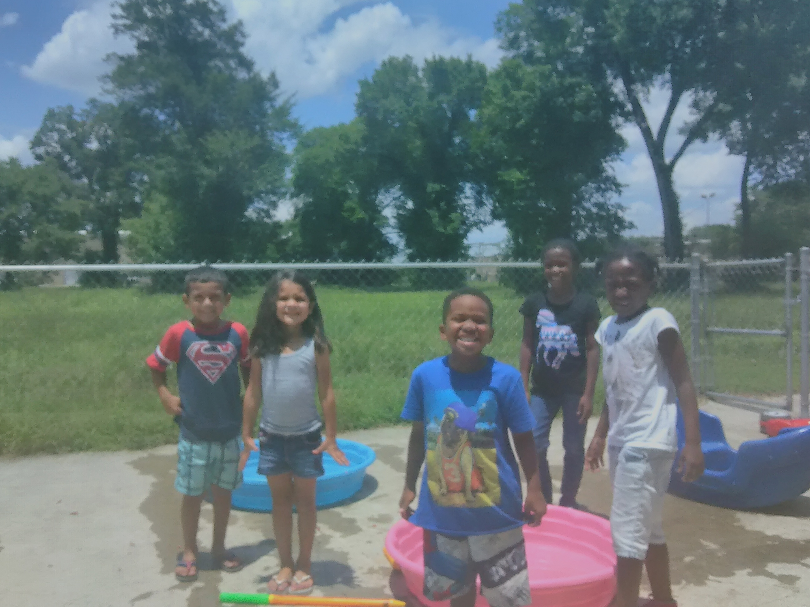 Outdoor Water Play at PCO